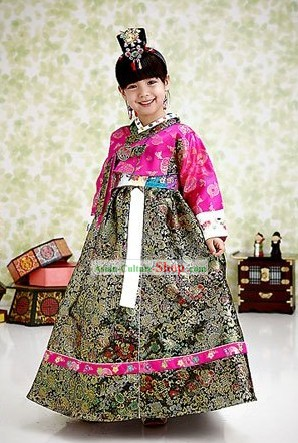 Ancient Korean Court Imperial Costumes for Girl