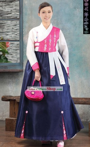 Traditional Korean Modern Hanbok Clothing for Women