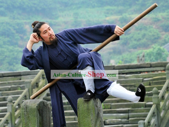 Ancient Chinese Taoist Clothing Complete Set