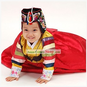 Traditional Korean Children Hanbok Clothing