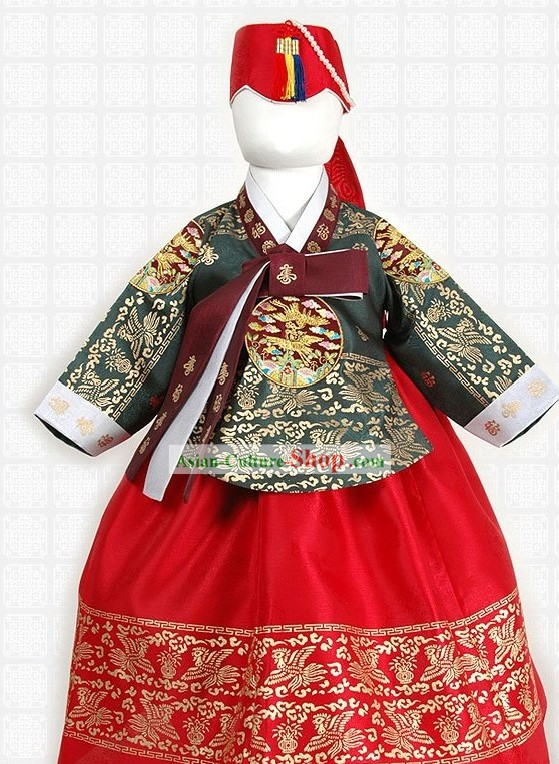 Traditional Korean Children Ceremonial Clothing