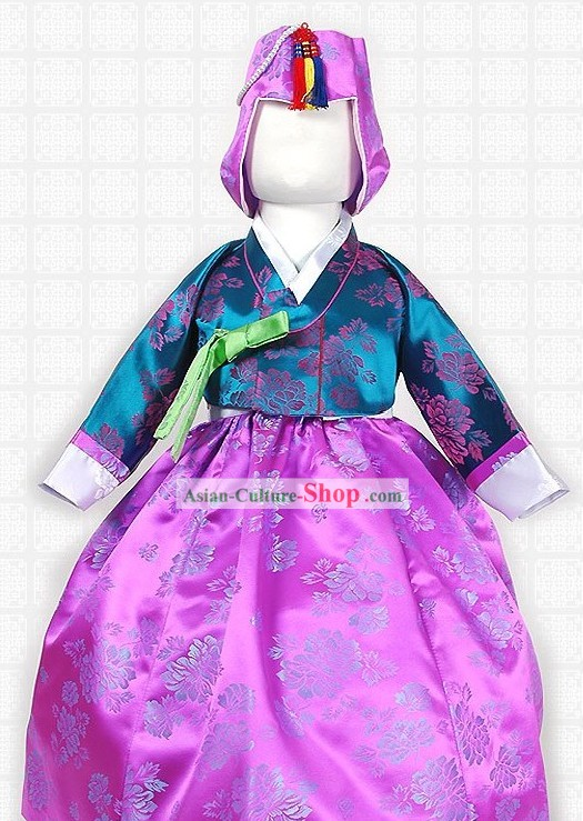 Traditional Korean Children Imperial Hanbok Clothing