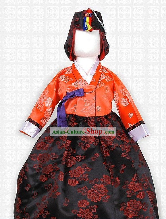 Traditional Korean Children Imperial Hanbok Costumes