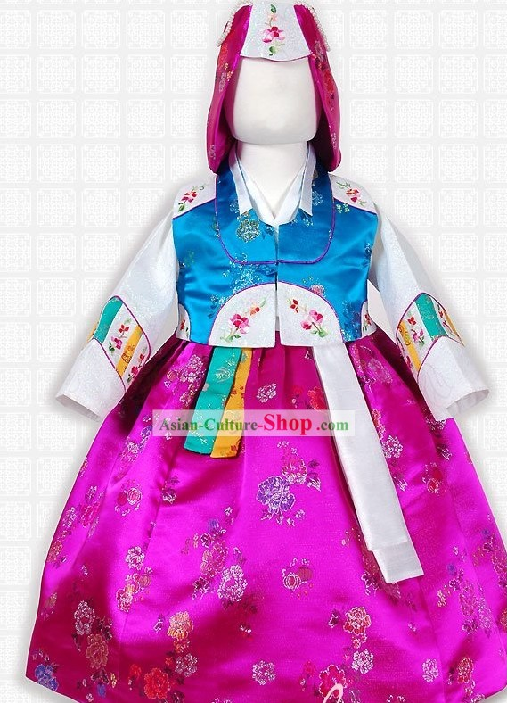 Ancient Korean Palace Costumes Complete Set