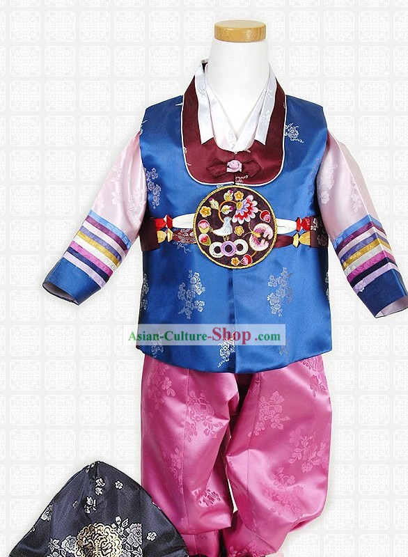 Traditiona Korean Children Hanbok Complete Set