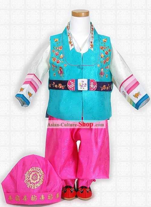Traditiona Korean Children Clothing Complete Set