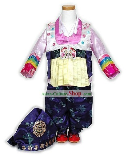 Traditiona Korean Hanbok Costumes Complete Set