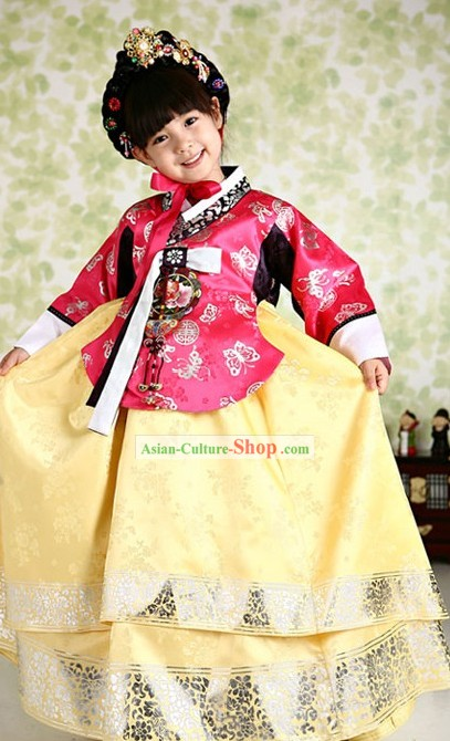 Traditional Korean Girls Hanbok