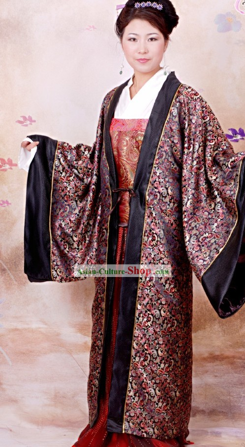 Chinese Song Dynasty Royal Family Women Clothing