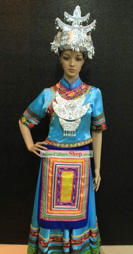 Chinese Miao Clothing and Hat