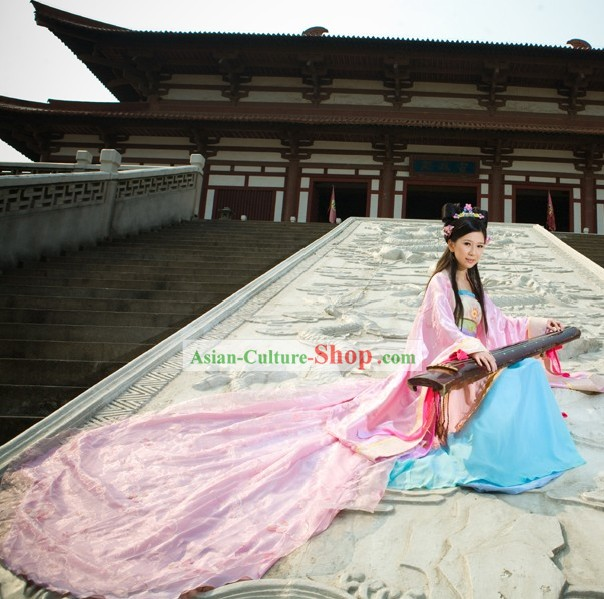 Ancient Chinese Princess Imperial Clothing Complete Set