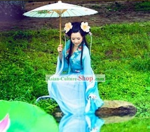 Ancient Chinese Fairy Costume Complete Set
