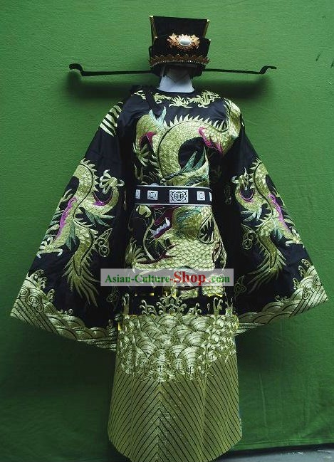 Ancient Chinese Opera Official Costumes Complete Set
