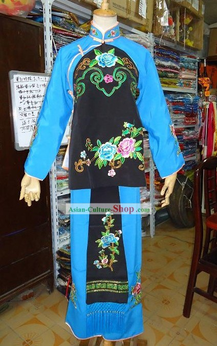 Peking Opera Servant Costume Complete Set