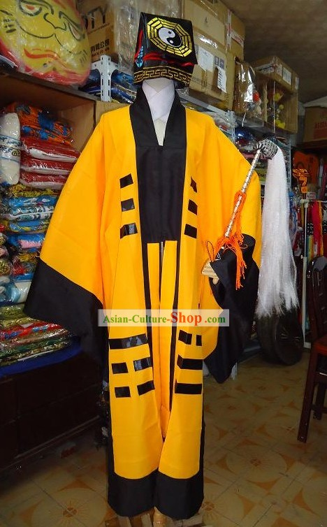Chinese Taoist Costumes Full Set