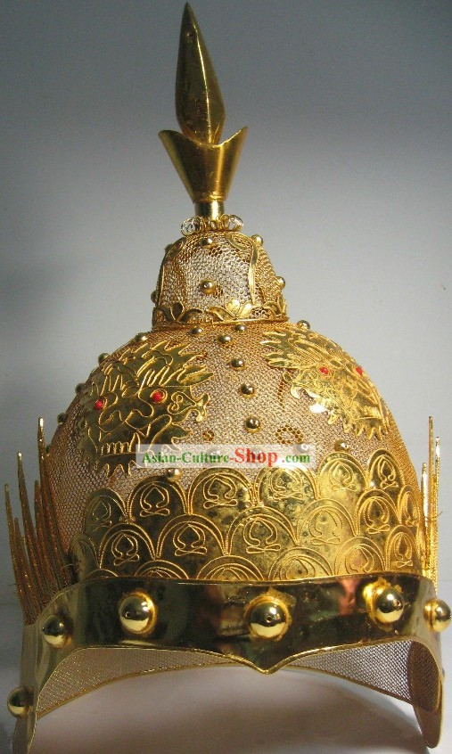 Ancient Chinese General Fighting Helmet
