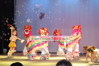 Basic Lion Dance Costumes