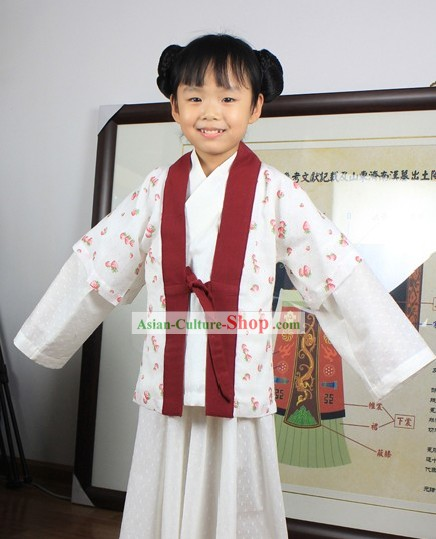 Standard Chinese Hanfu Clothing for Kids