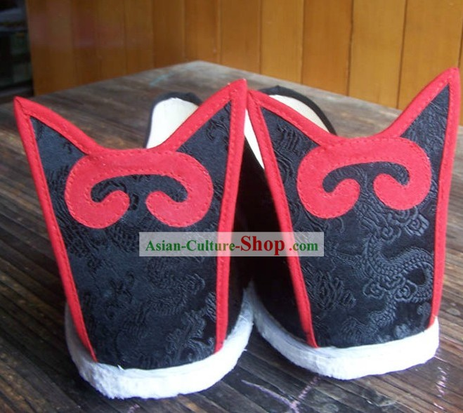 Ancient Chinese Hanfu Shoes for Men