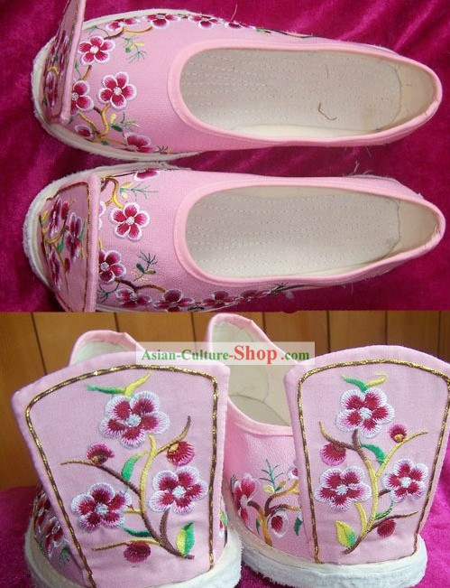 Ancient Chinese Handmade Hanfu Matching Shoes for Women