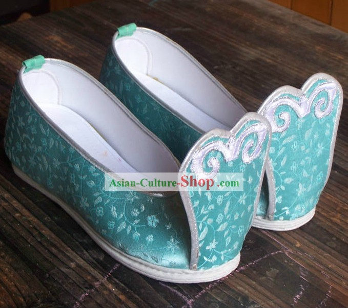 Ancient Chinese Handmade Hanfu Shoes for Women