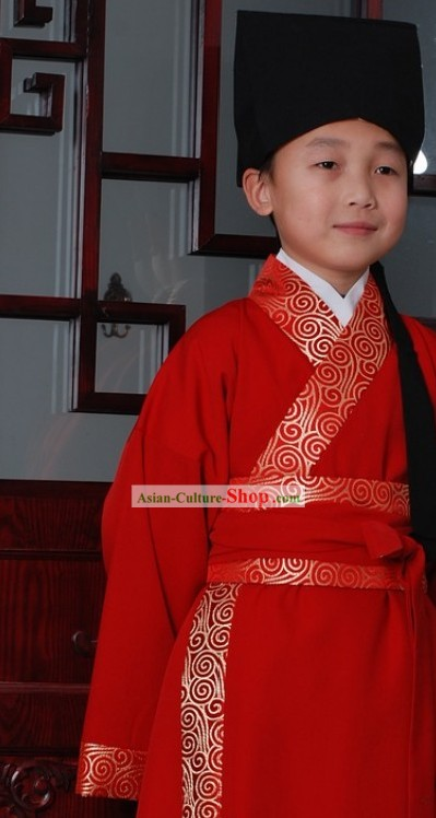 Traditional Chinese Hanfu Clothing for Kids