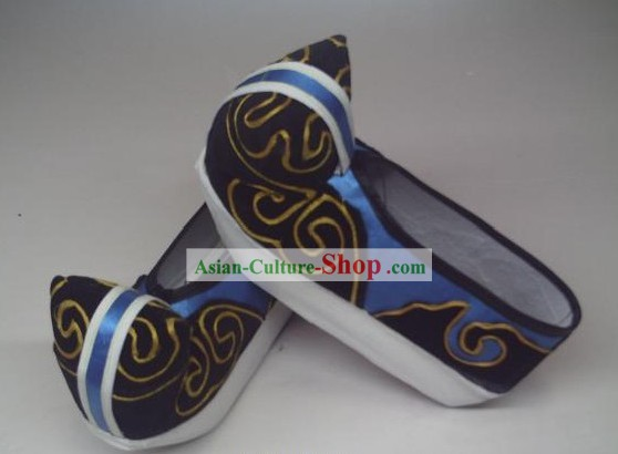 Traditional Chinese Opera Cloud Shoes for Men
