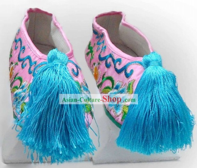 Traditional Female Manchu Shoes