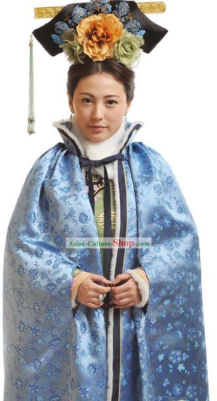 Manchu Imperial Winter Cape