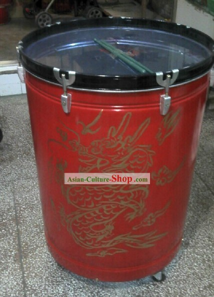 Traditional Chinese Dragon Water Drum