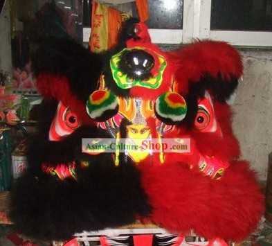 Supreme Color Combination Lion Dancing Costume Complete Set