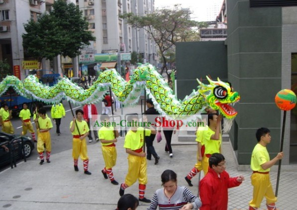 Green Luminous Dragon Dancing Equipment Complete Set