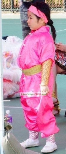 Traditional Chinese Dragon Dancer Costumes for Kids