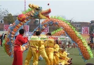 Peking Dragon Dance Equipment Complete Set