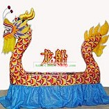 Traditional Chinese Handmade Dragon Boat