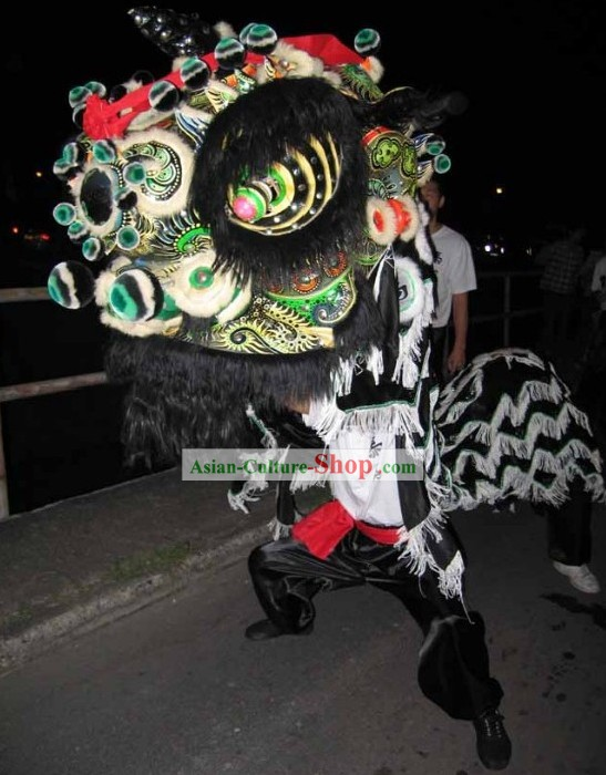 Supreme Ancient Style Lion Dance Costumes Complete Set