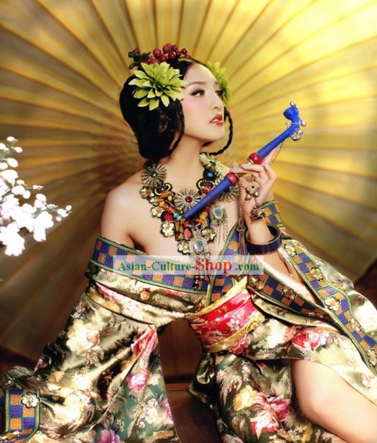 Ancient Chinese Dance Queen Costumes