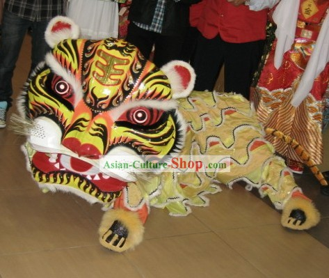 Traditional Tiger Dancing Costumes Complete Set