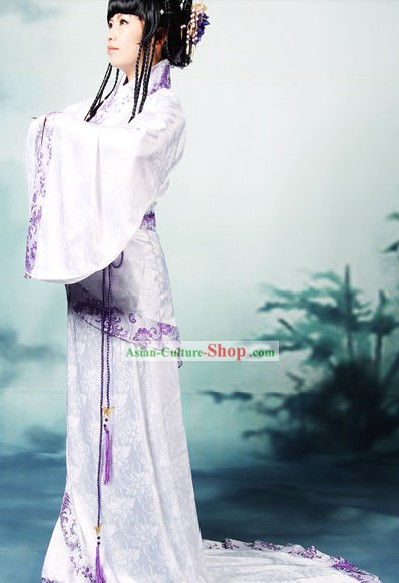 Traditional Chinese Brocade Hanfu Suit for Women