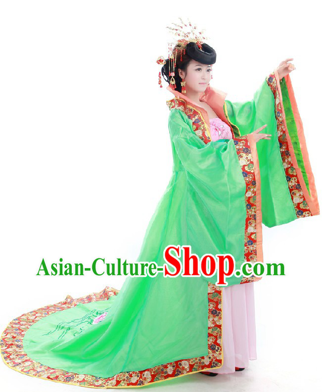 Ancient Tang Dynasty Chinese Princess Costumes