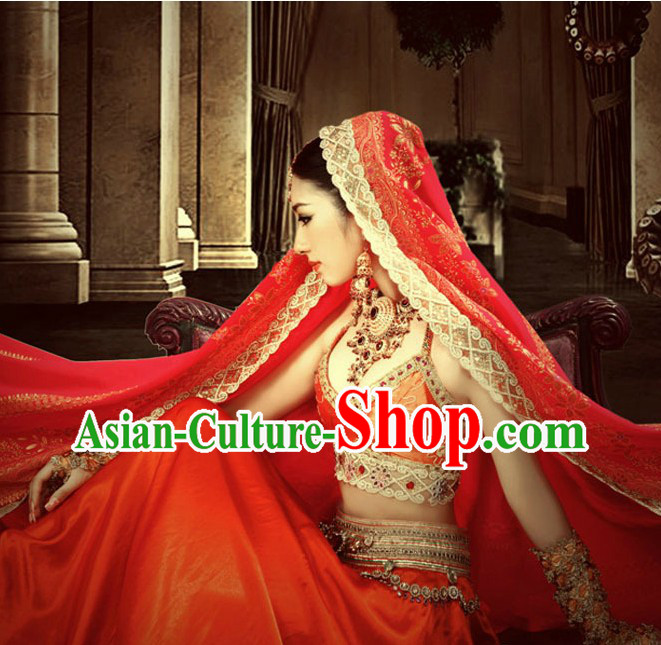 Traditional Indian Wedding Bride Clothing for Women