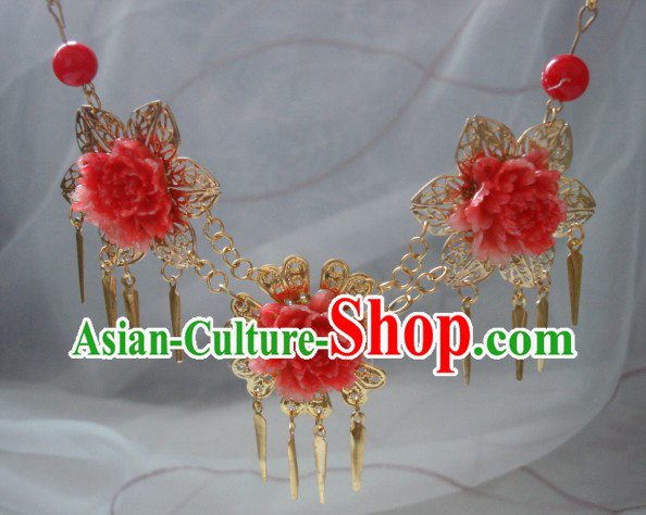 Handmade Ancient Chinese Style Princess Necklace