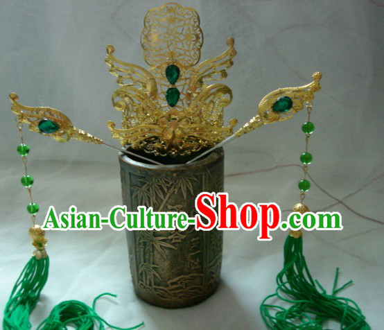 Handmade Ancient Chinese Palace Style Emperor Crown