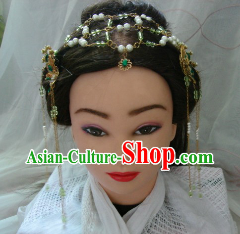 Ancient Chinese Style Handmade Princess Hair Accessories Set