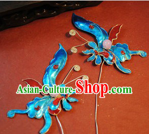 Ancient Chinese Handmade Butterfly Hairpin for Women