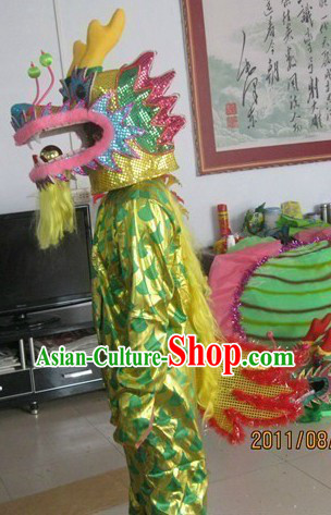 Chinese Dragon Dancer Costumes