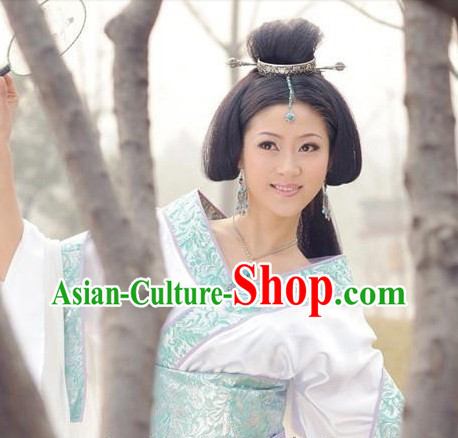 Wang Zhaojun Beauty White Costumes for Women