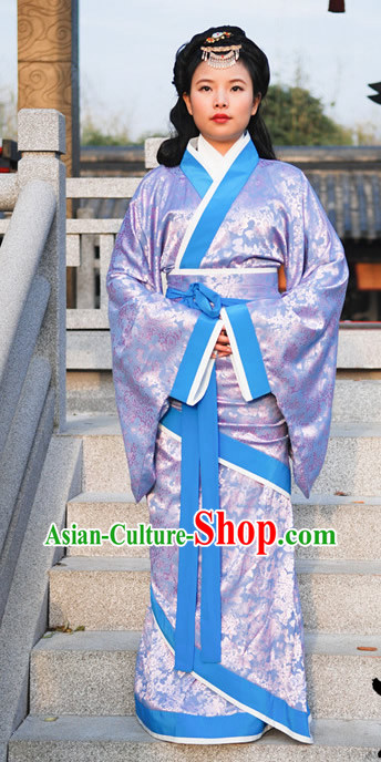 Ancient Chinese Hanfu Dynasty Clothing Complete Set