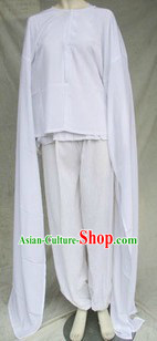 Long Sleeve White Opera Dance Costume