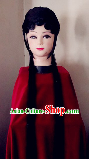 Traditional Chinese Dramatic Opera Long Wig for Women